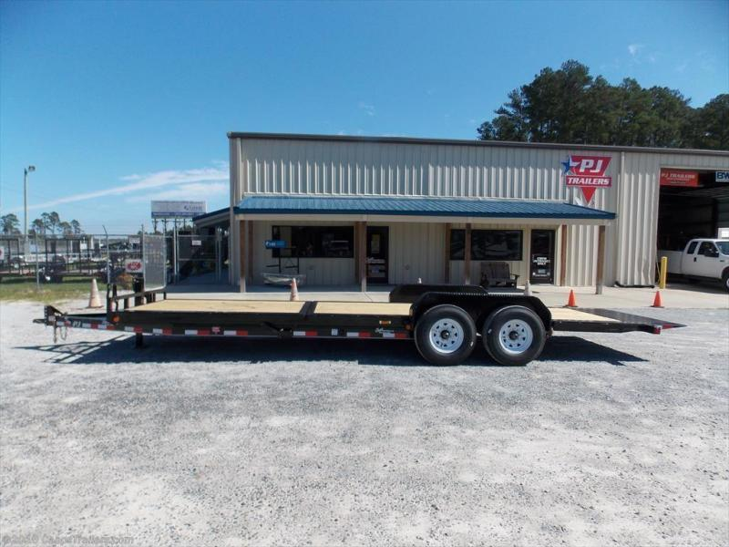 2017 PJ Trailers TJT2482BTTKT Vehicle Tilt Deck