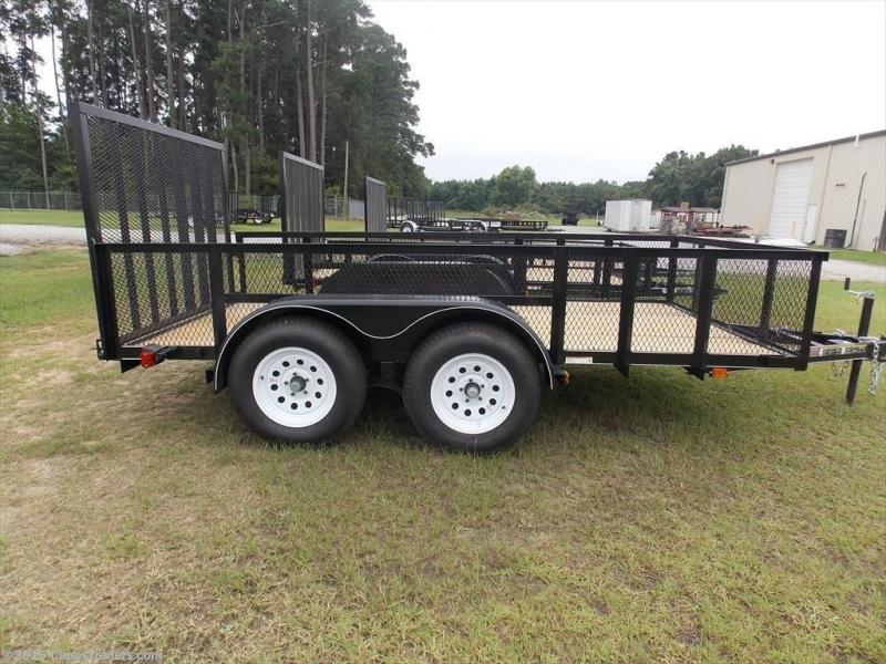 2018 Carry-On CO 6X12GWHS1BRK Utility Trailer