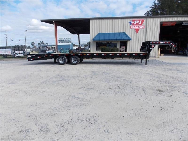 2019 PJ Trailers FDR32A2BSWKO Flatbed Trailer