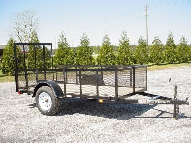 2018 Carry-On 5X10GWHS Utility Trailer