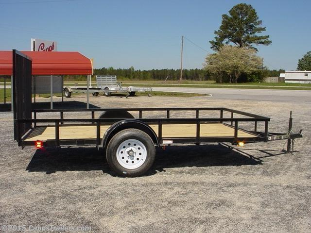 2018 Carry-On 6X10GW Utility Trailer