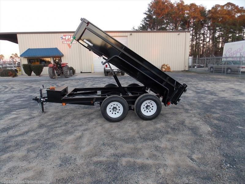 2019 Carry-On CO 6X10DUMPDO10K-24HS Dump Trailer