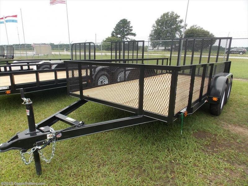2019 Carry-On CO 6x14GWHS1BRK Utility Trailer