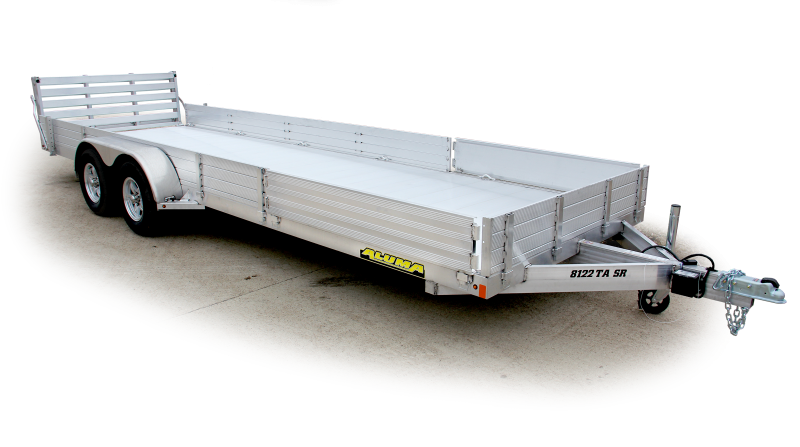 2020 Aluma AL 8116TASR Utility Trailer