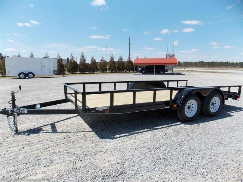 2018 PJ Trailers CO 6X14GW1BRK Utility Trailer