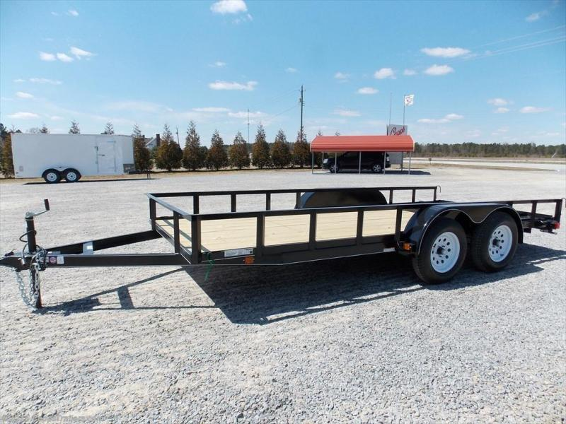 2018 Carry-On CO 6X16GW1BRK Utility Trailer