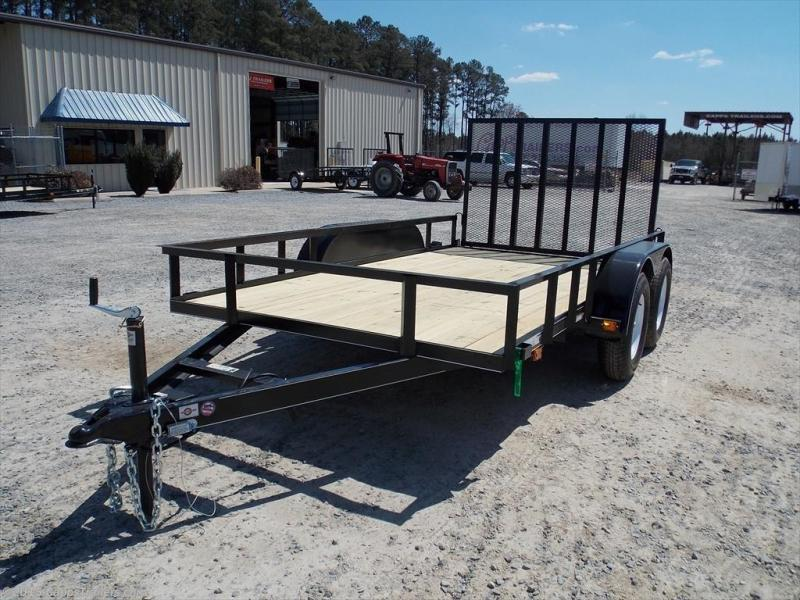 2019 Carry-On CO 6X12GW1BRK Utility Trailer