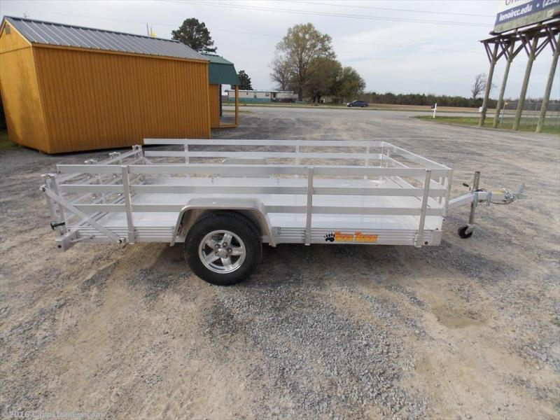 "2016 Bear Track 76"" x 144"" Single Axle Utility Trailer"