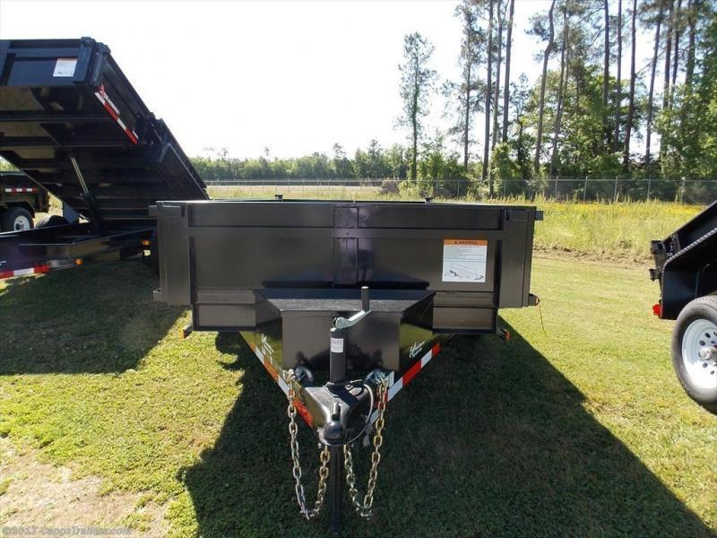 2019 Carry-On 6x12DUMPLP10K - Ramps Dump Trailer