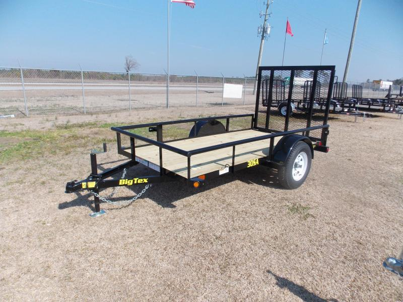 2019 Big Tex Trailers BT 30ES-10BK4RG Utility Trailer