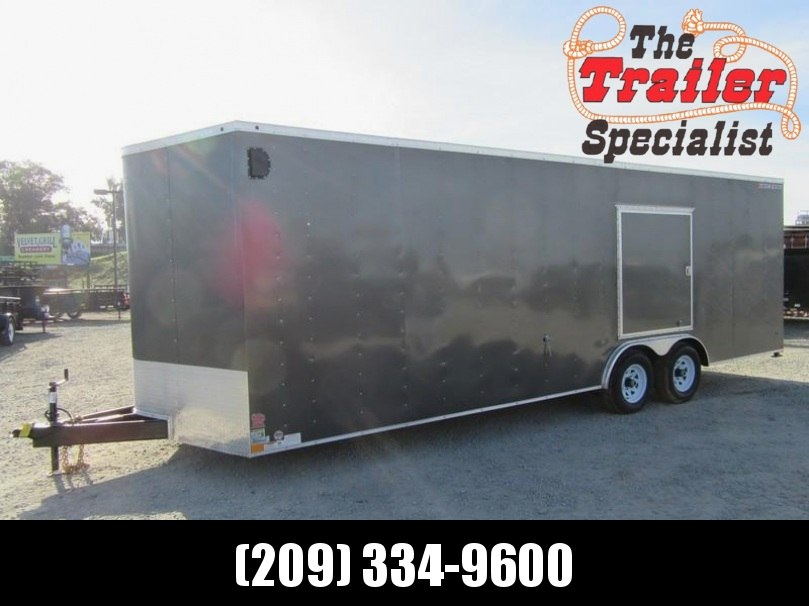 New 2018 Wells Cargo FT85244 8.5x24 10K Enclosed Cargo Trailer Vin 59603