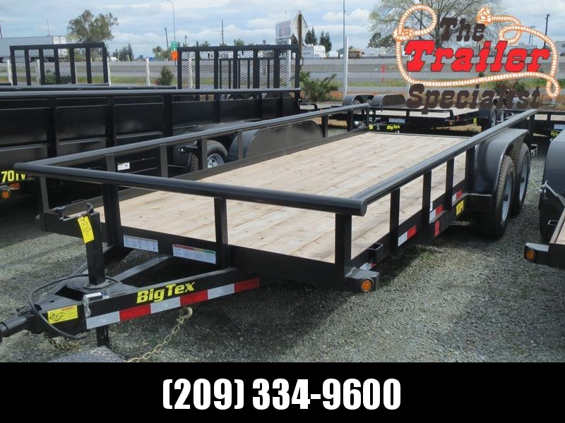 New 2019 Big Tex 7x18 10K GVW Pipe Utility Trailer