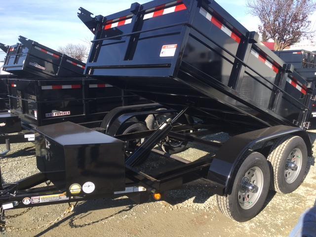 New 2018 Five Star DT064 5x8 7K GVW Dump Trailer VIN32221