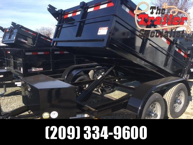 New 2018 Five Star DT064 5x8 7K GVW Dump Trailer