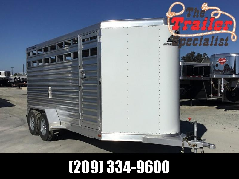 NEW 2019 Elite Trailers 15 ft Wrangler Stock BP Livestock Trailer