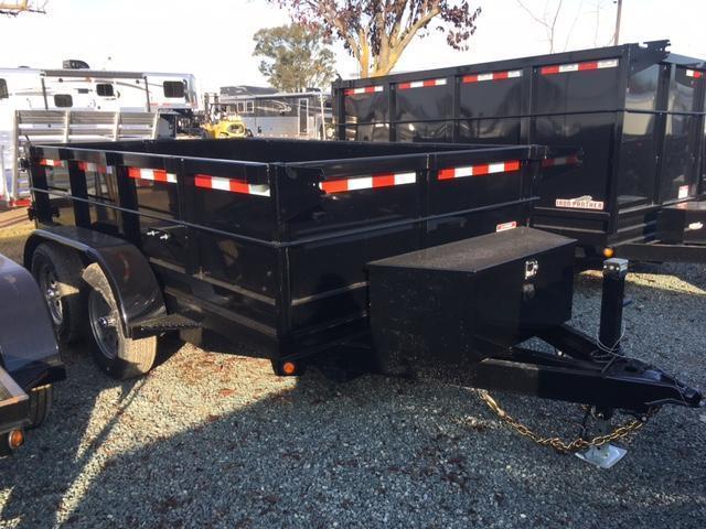 New 2018 Five Star DT065 7k 6x10 Dump Trailer Vin 32223