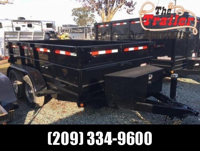New 2018 Five Star DT065 7k 6x10 Dump Trailer Vin 32301