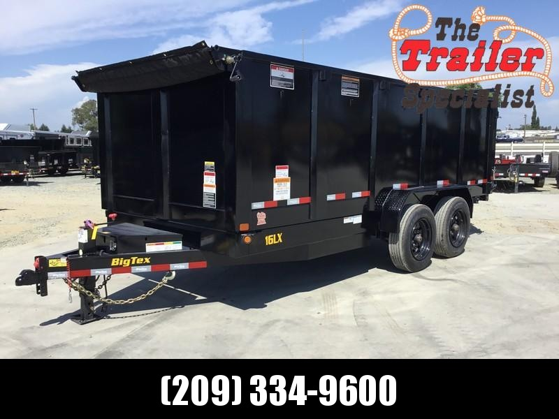 New 2020 Big Tex 16LX-16P4 17.5 GVW 7x16 Dump Trailer