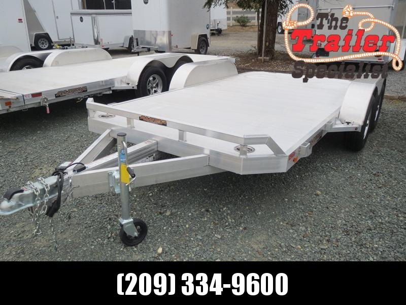 "NEW 2020 Aluma 8214B Car / Racing Trailer 82""x14' 7k GVW"