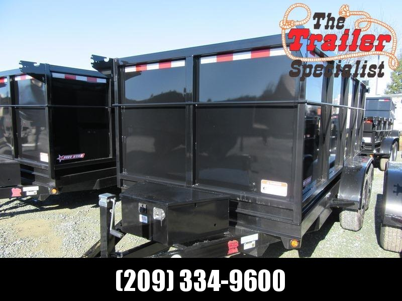New 2018 Five Star DT262 6x12 10k Dump 4' sides