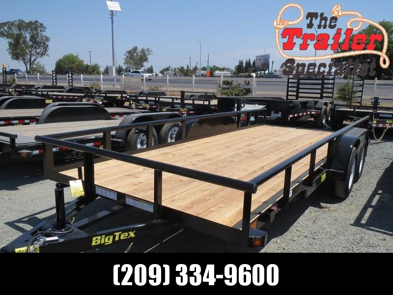 New 2019 Big Tex 70PI-18X 7x18 Pipe Utility Trailer