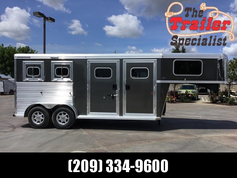 New 2018 Logan Coach Riot 2-Horse GN Horse Trailer