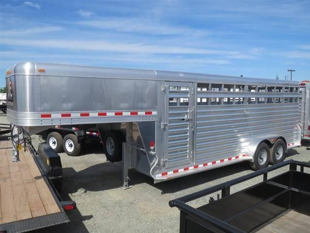 New 2015 Elite Trailers 20' Livestock Trailer VIN 15418
