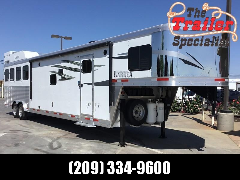NEW 2019 Lakota Charger 4 horse 15 ft short wall C8415SR Horse Trailer