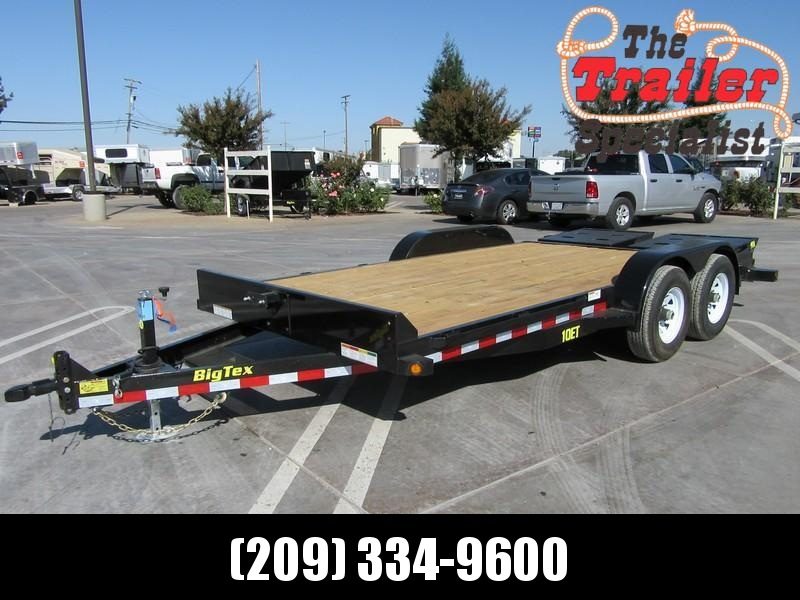 New 2018 Big Tex 10ET-16MR Equipment Trailer 7X186 10K GVW