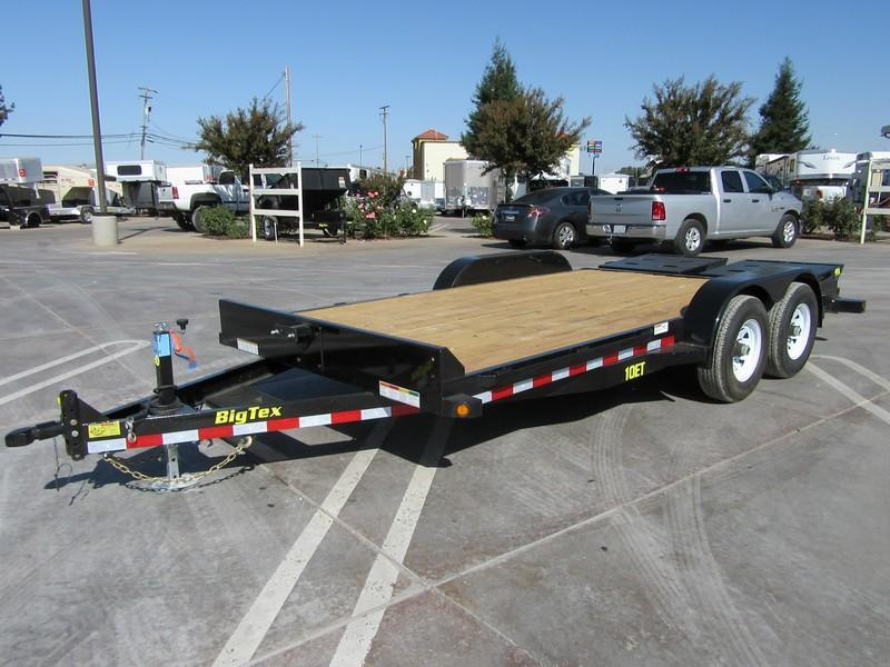 New 2018 Big Tex 10ET-16MR Equipment Trailer 7X186 10K GVW VIN 95478