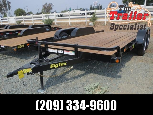 New 2018 Big Tex 70CH-16 7x16 7K GVW Car Hauler Trailer