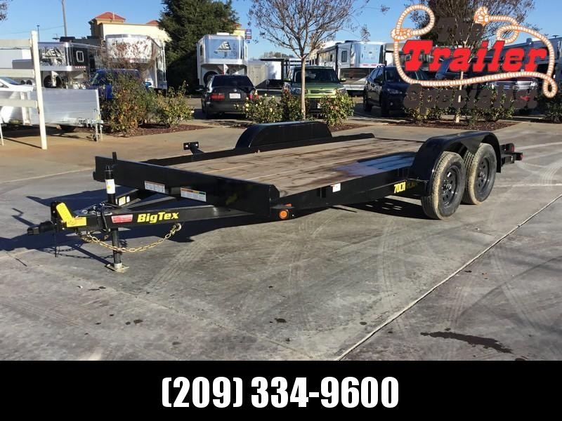New 2019 Big Tex 70CH-16 7x16 7K GVW Car Hauler Trailer
