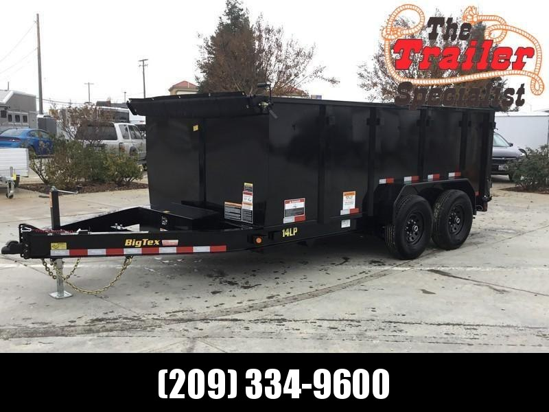New 2020 Big Tex 14LP-14P4 7x14 14K Low profile Dump Trailer