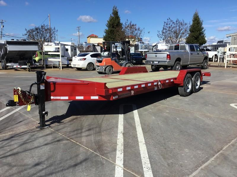 NEW Heavy Duty 2019 Midsota TB-22 7x22 15400 GVWR Equipment Trailer