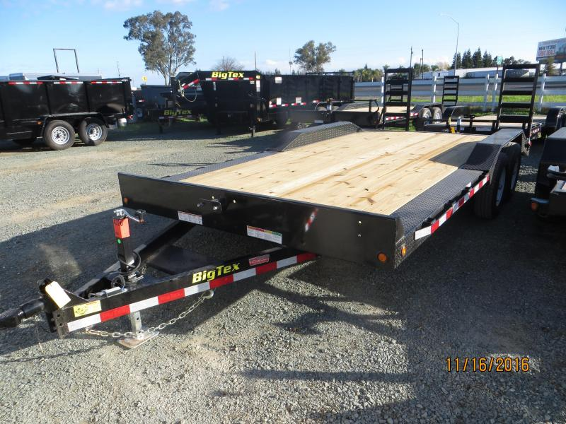 "2017 Big Tex 10DF-18 Equipment Trailer 96""x18' VIN:31944"