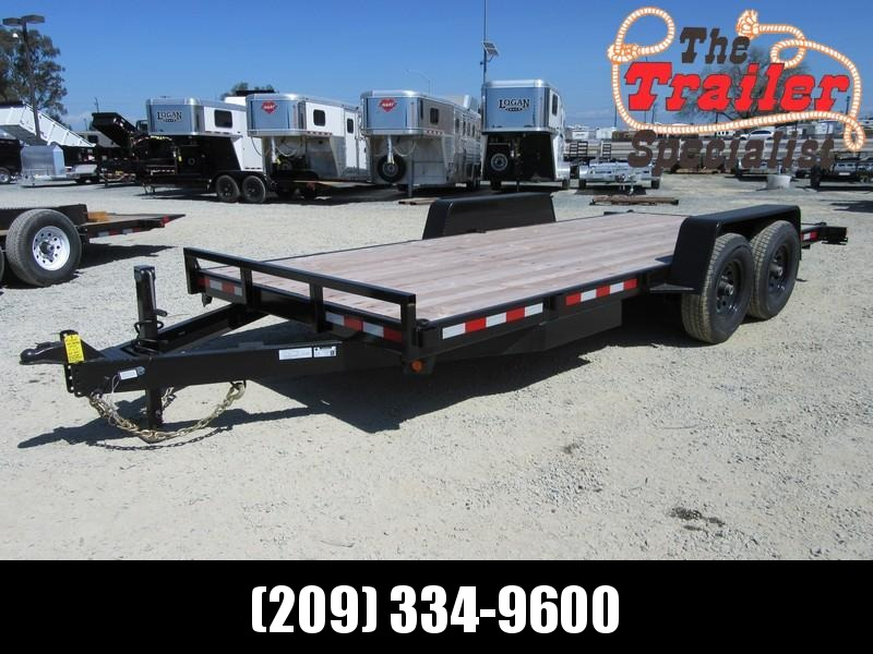 New 2017 Iron Panther ET177 7x18 14K Equipment Trailer Vin 12914