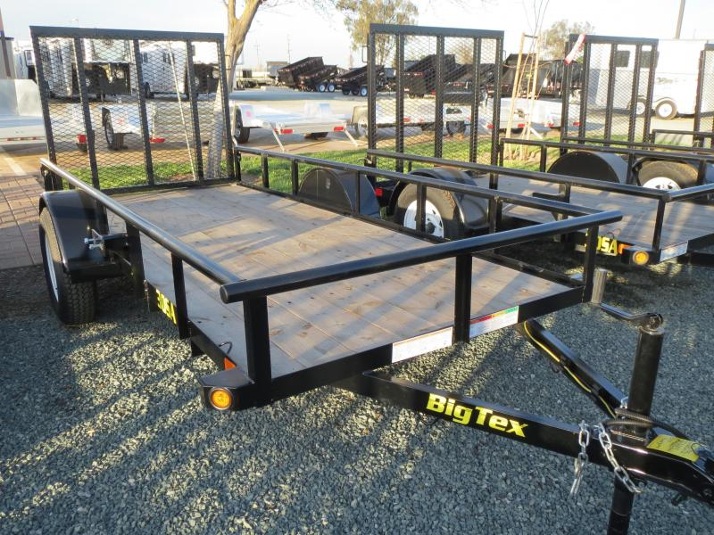 New 2017 Big Tex 30SA-12 5x12 Utility Trailer Vin 62740