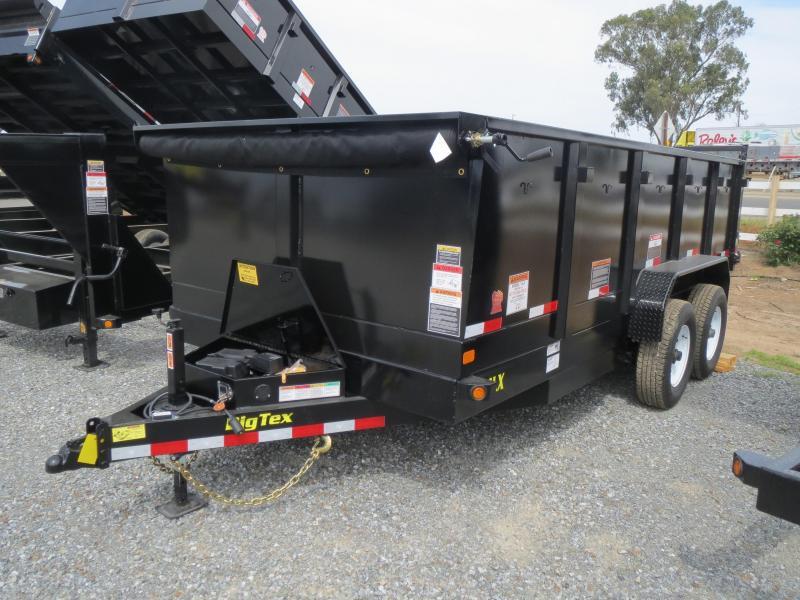 New 2017 Big Tex 14LX-16P3 Dump Trailer 7x16 14k VIN:68777