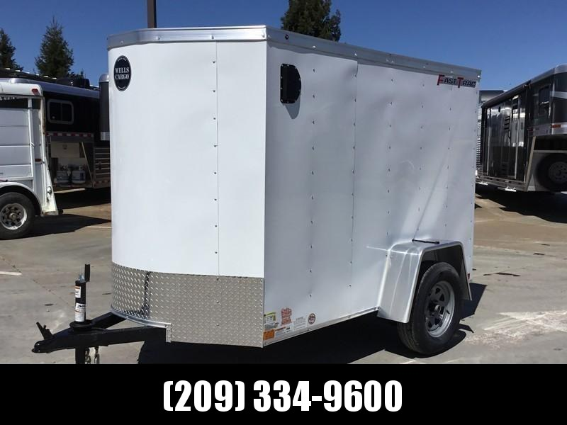 NEW 2019 Wells Cargo FT58S2 5x8 Fastrac Enclosed Cargo Trailer