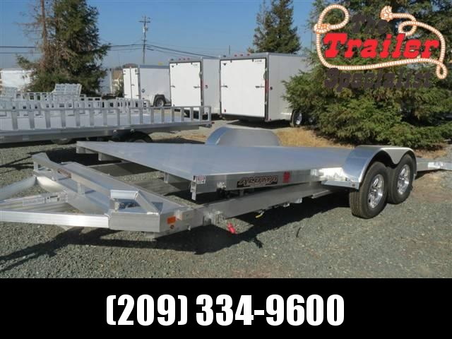 "New 2020 Aluma 8220TILT 82""x20' Car / Racing Trailer"