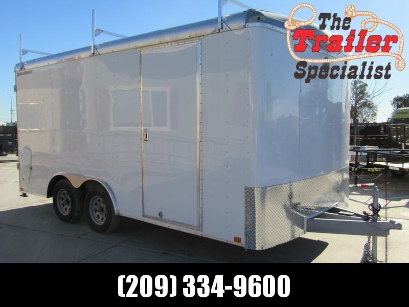 New 2018 Wells Cargo FT85162 8.5x16 Enclosed Cargo Trailer Vin 52449