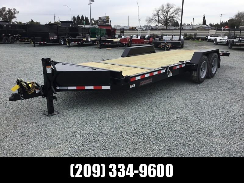 New Heavy Duty 2019 Midsota TB-20 7x20 15400 GVW Equipment Trailer