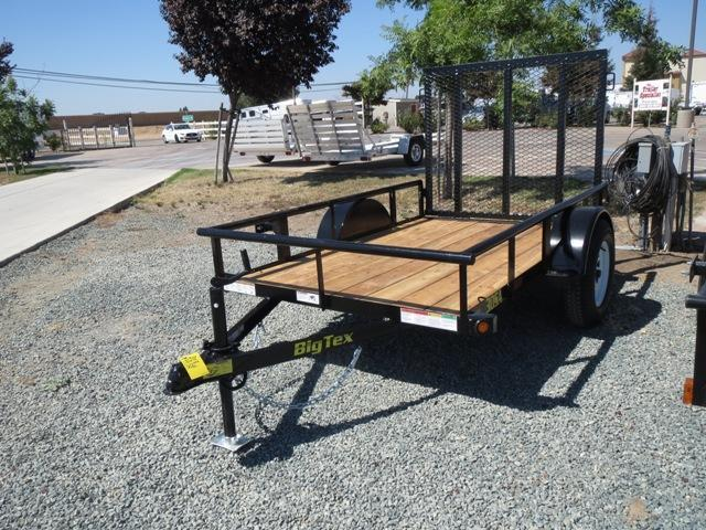 New 2018 Big Tex 30SA-08 5X8 Utility Trailer VIN:97790