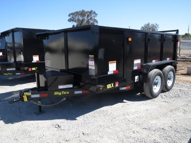 2017 Big Tex 10LX-12P3 83x12 Dump Trailer VIN: 45559
