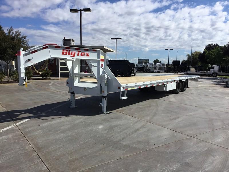 New 2018 Big Tex 25GN-35HDTS 8.5'x35' Hydraulic Dovetail