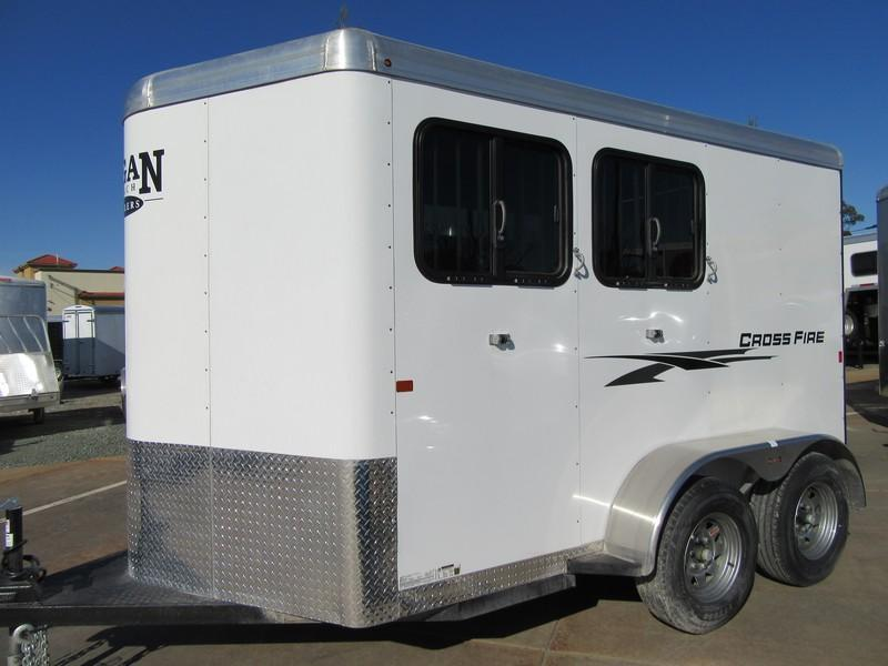 New 2018 Logan Coach Crossfire 2H Horse Trailer Vin 06180