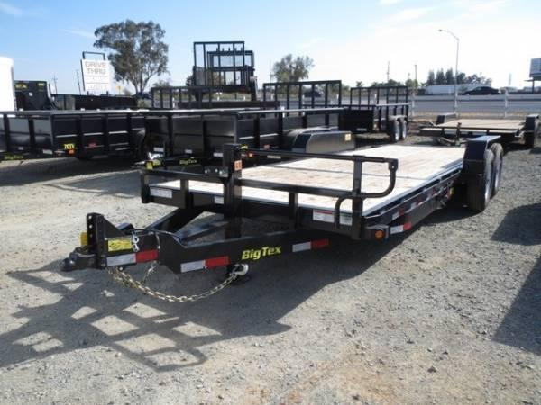 New 2017 Big Tex 14TL-22 80x22 Tilt Equipment Trailer Vin66930