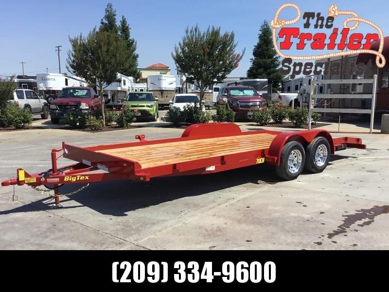 New 2019 Big Tex 70CH-20DTBK2 7x20 7K Car / Racing Trailer