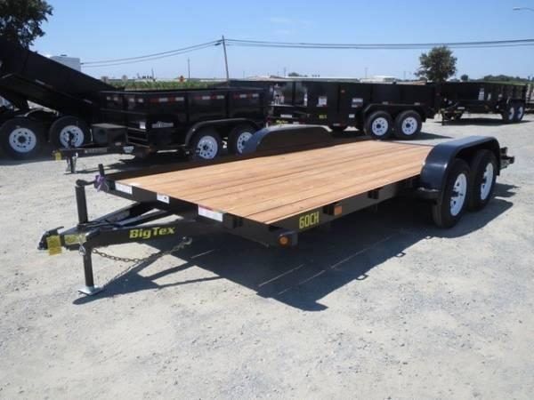 New 2017 Big Tex 60CH-16 7x16' 6k Car/Racing Trailer VIN87390