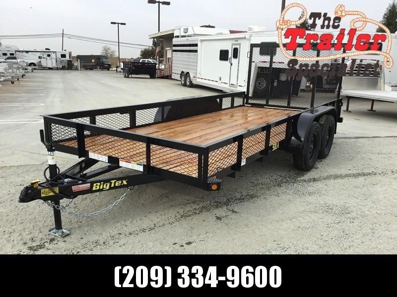 New 2019 Big Tex 50LA-16-4RG 6.5x16 5K GVW Utility Trailer